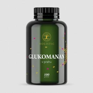 Glukomanan 100g v prahu - Holistic